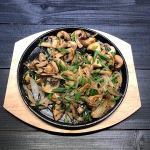 грибы жаренные
