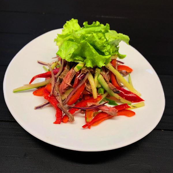 Салат с говядиной Азиатский 1
