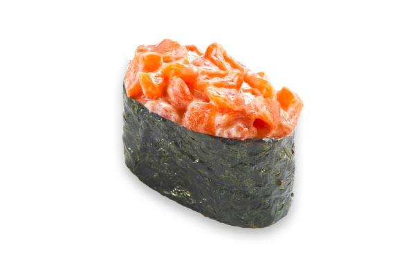 Гункан спайси лосось 1