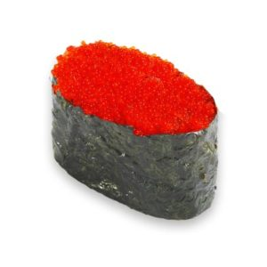 Гункан с красной тобикой