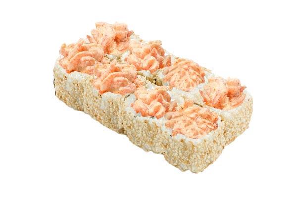 Ролл Канапе с лососем 1