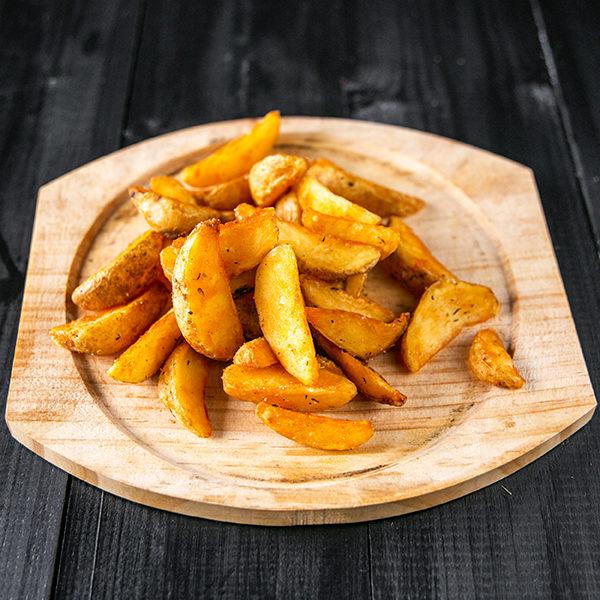 Запеченные картофельные дольки по-деревенски 1