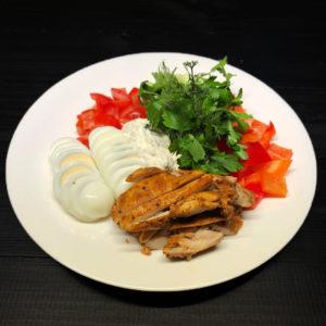 Салат с курочкой Лондонский в стол