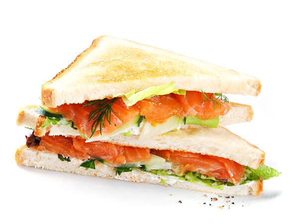 Сэндвич с лососем 1