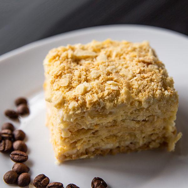 Торт Наполеон без украшений 100 гр 1
