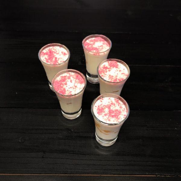 Десерт фруктово-сливочный(заказ от пяти штук) 1