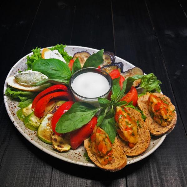 Плато из запеченных овощей 1