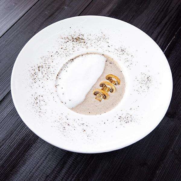 Суп-капучино с грибами 1