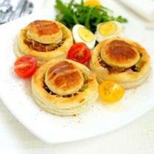 Тарталетки с овощным миксом 2 шт (заказ от трех порций )