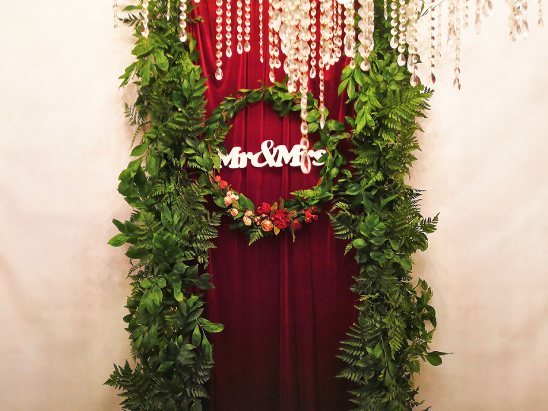 Свадьба в красном бархате