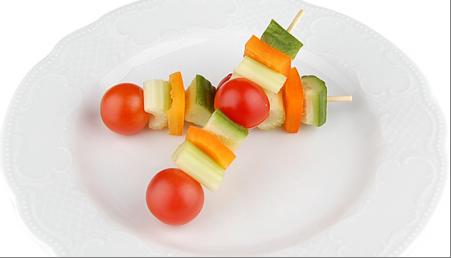 Канапе из свежих овощей(заказ от пяти штук) 1