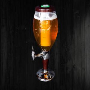 Колба с пивом