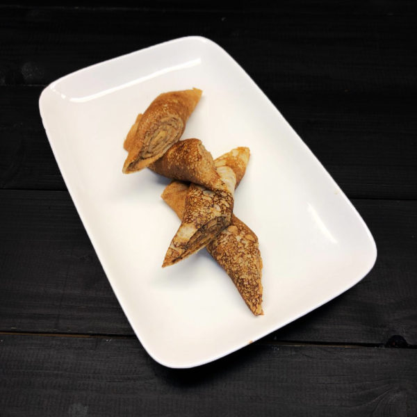 Блинчик с паштетом из куриной печенки 1
