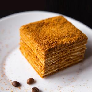 Торт Медовый без украшений 100 гр