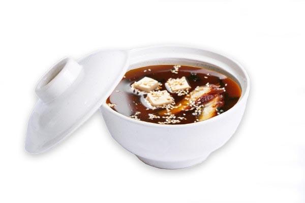 Суп Миссо с угрем 1