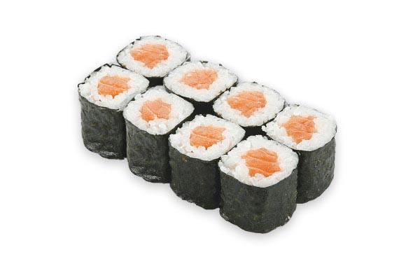 Ролл с лососем 1