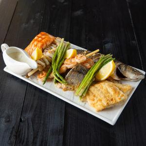 Набор рыба-гриль